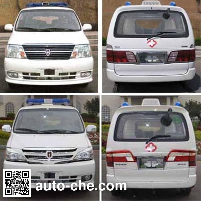 Jinbei SY5031XJHL-D6S1BG ambulance
