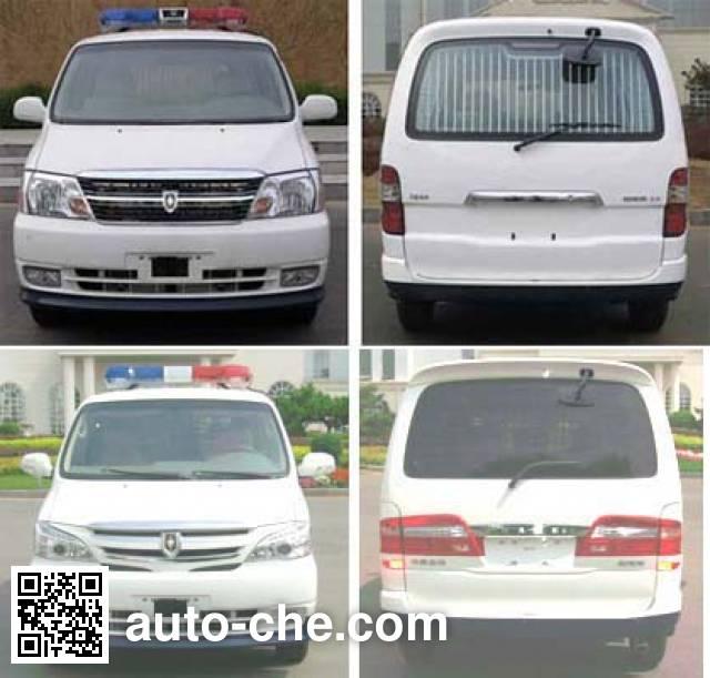 Jinbei SY5031XQCL-D4SBG prisoner transport vehicle