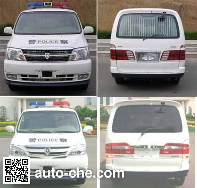 Jinbei SY5031XQCL-M1S1BG prisoner transport vehicle