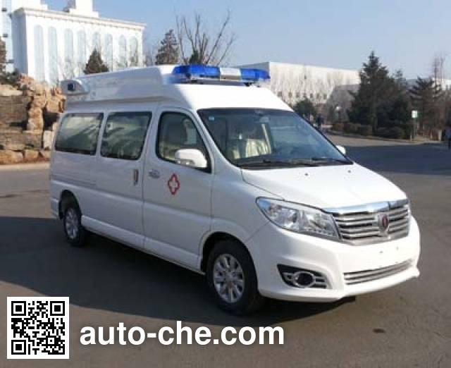 金杯牌SY5032XJHJ-G9S1BG监护型救护车