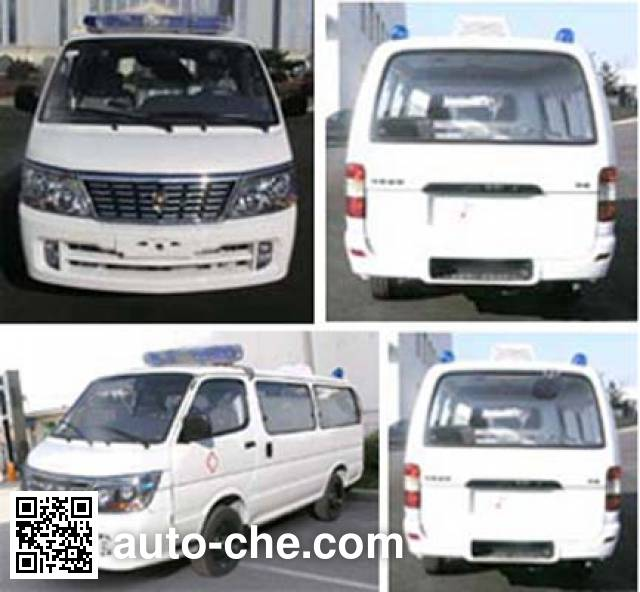 Jinbei SY5033XJH-D1SBH ambulance