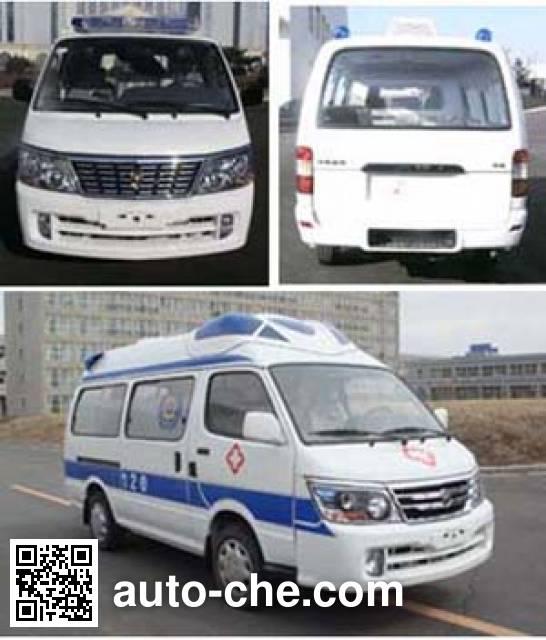 Jinbei SY5033XJH-MSBH ambulance