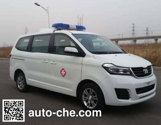 华颂牌SY5033XJH-S1Z1BG救护车