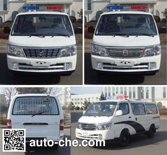 Jinbei SY5033XQC-D3S1BH prisoner transport vehicle