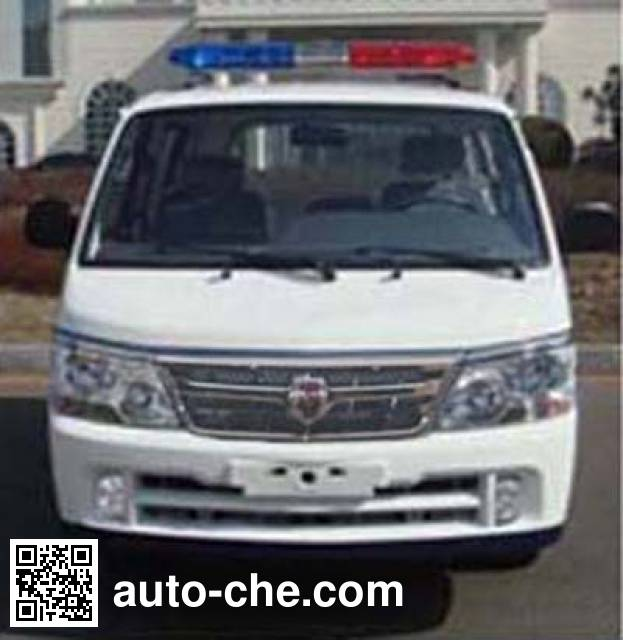 Jinbei SY5033XQC-W1SBH prisoner transport vehicle