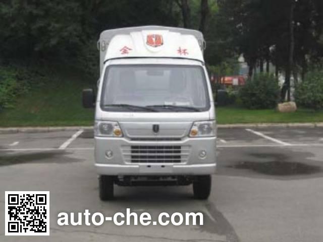 Jinbei SY5034CCYDAL-B6 stake truck