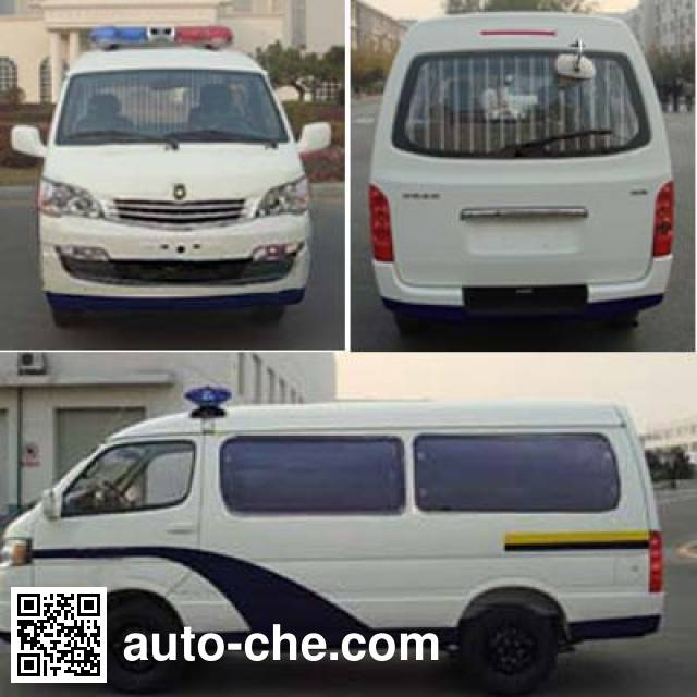 Jinbei SY5034XQC-D4S1BH prisoner transport vehicle