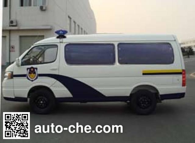 Jinbei SY5034XQC-MSBH prisoner transport vehicle
