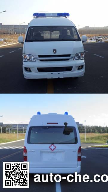 金杯牌SY5038XJHL-G9S1BH救护车