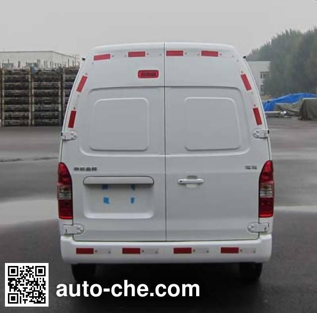 Jinbei SY5038XXY-J1SBH box van truck