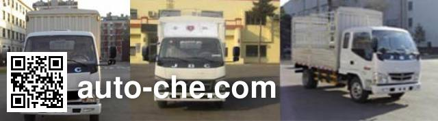 Jinbei SY5044CCYB1-AV stake truck