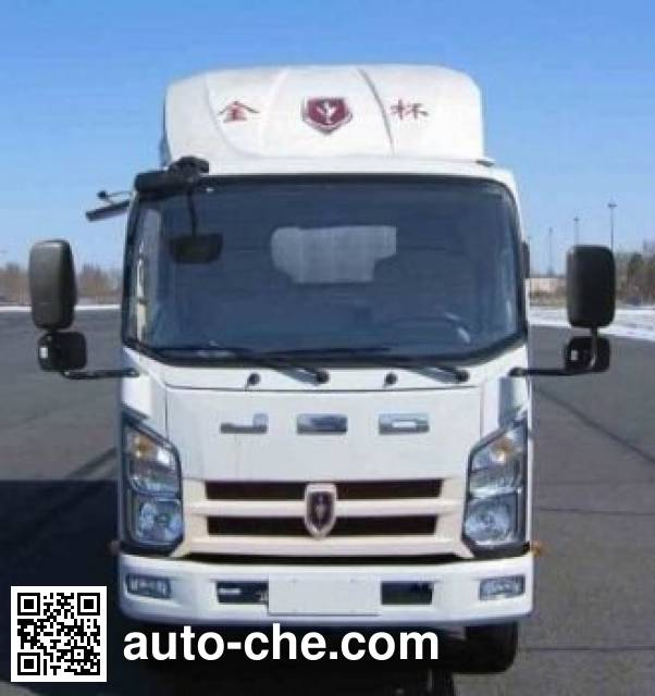 Jinbei SY5044CCYBQ2-V5 stake truck