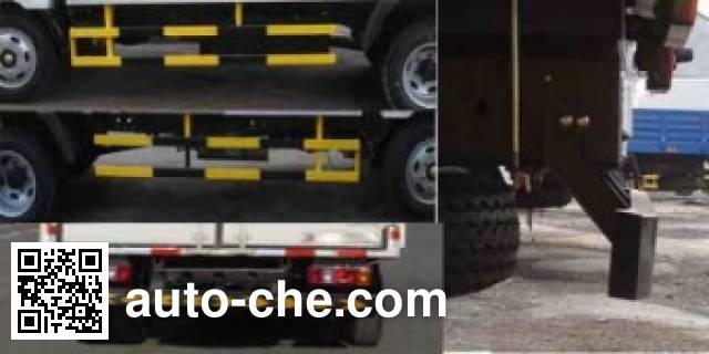 Jinbei SY5044CCYD-ZA stake truck