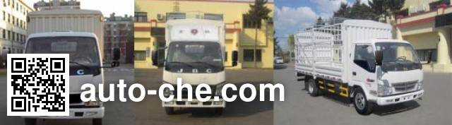 Jinbei SY5044CCYDQ1-AV stake truck