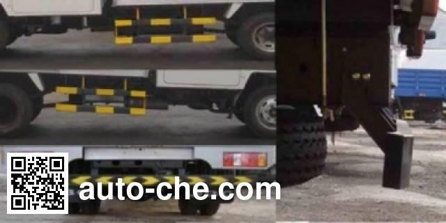 Jinbei SY5044CCYS-C4 грузовик с решетчатым тент-каркасом