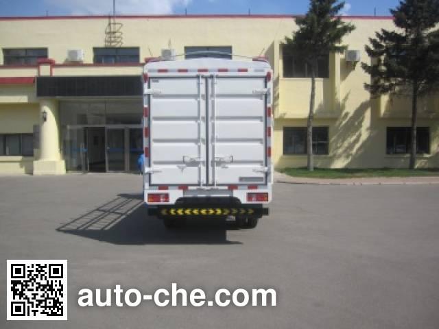 Jinbei SY5044CCYSF-AT грузовик с решетчатым тент-каркасом