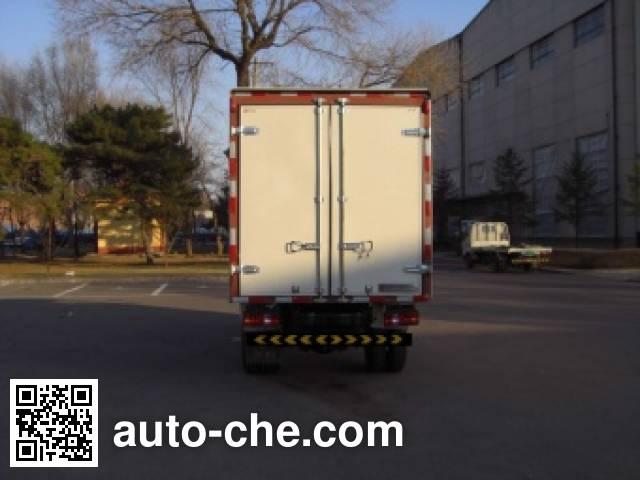 Jinbei SY5044XXYBF-AT box van truck
