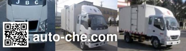 Jinbei SY5044XXYBL-AT box van truck