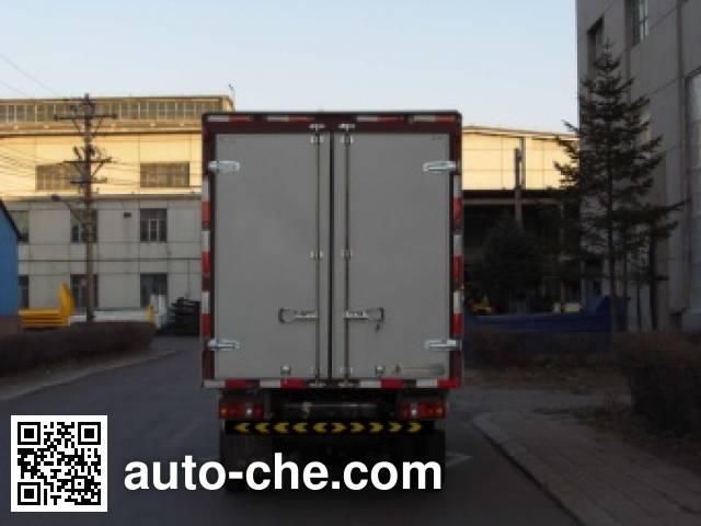 Jinbei SY5044XXYB-V5 box van truck