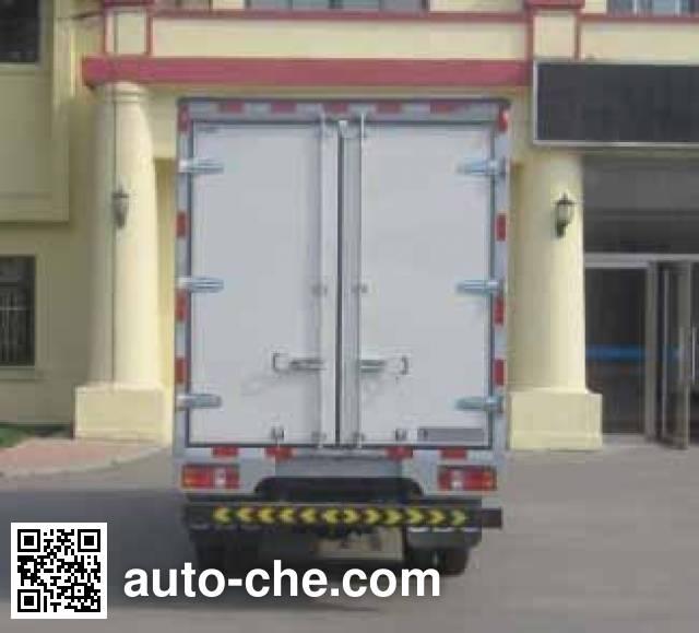 Jinbei SY5044XXYD-H2 box van truck