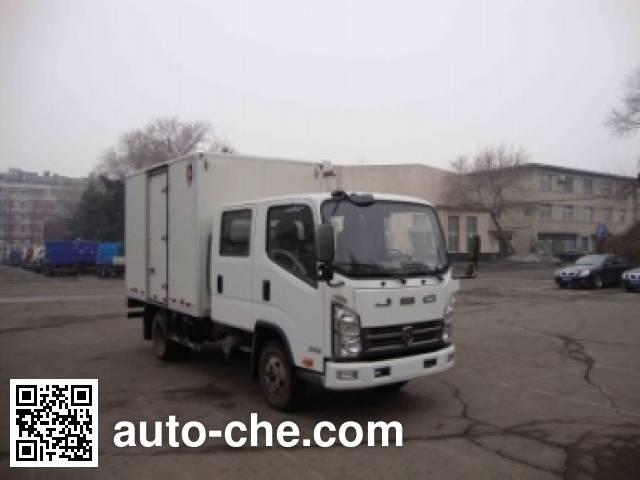 Jinbei SY5044XXYS-U1 box van truck