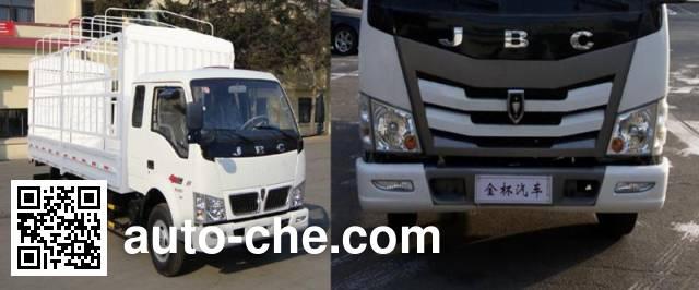 Jinbei SY5045CCYH-LV грузовик с решетчатым тент-каркасом