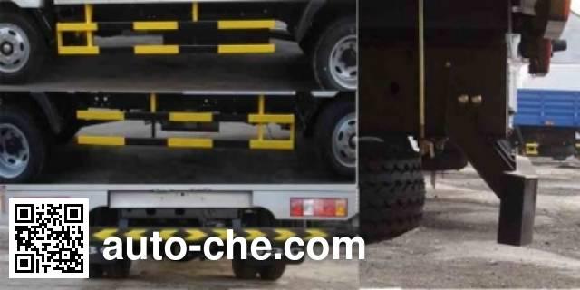Jinbei SY5045CCYHL-LV грузовик с решетчатым тент-каркасом
