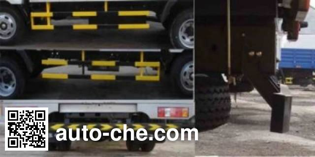 Jinbei SY5045CCYH-ZC грузовик с решетчатым тент-каркасом