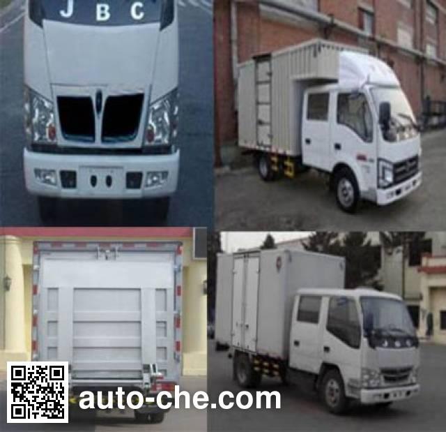 Jinbei SY5045XXYSZA-MC box van truck
