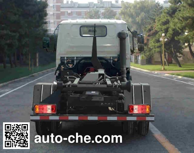 金杯牌SY5084ZXXDQ-V5车厢可卸式垃圾车