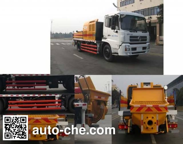 三一牌SY5125THB车载式混凝土泵车