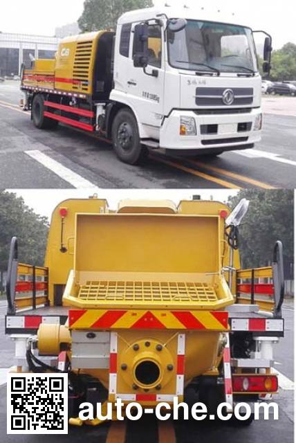 Sany SY5128THBE truck mounted concrete pump