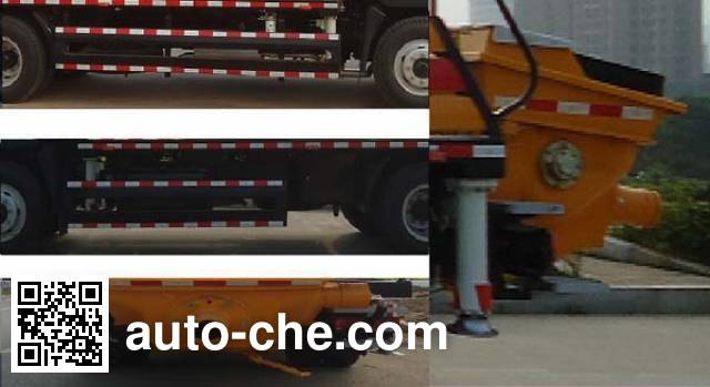 三一牌SY5131THB车载式混凝土泵车