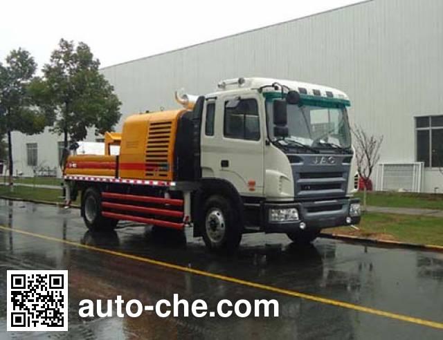 三一牌SY5132THB车载式混凝土泵车