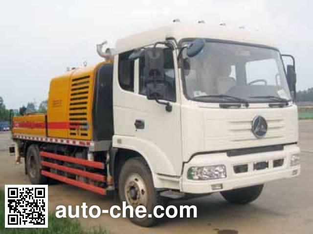 三一牌SY5133THB车载式混凝土泵车