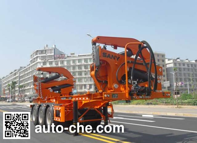 Sany SY9402TZX self-loading container transport trailer