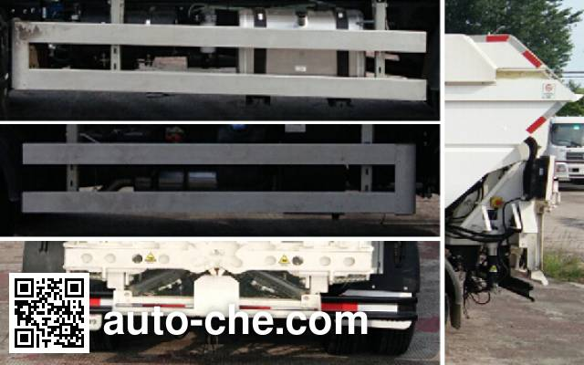 Yinbao SYB5081ZYSE5 garbage compactor truck