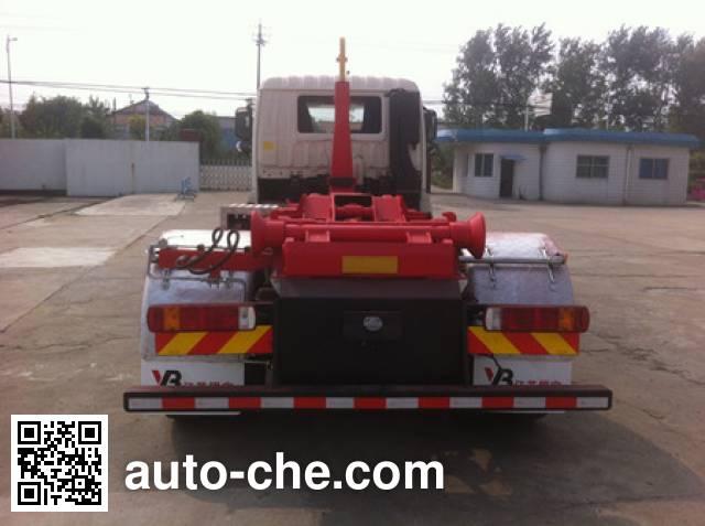 Yinbao SYB5162ZXXNG detachable body garbage truck