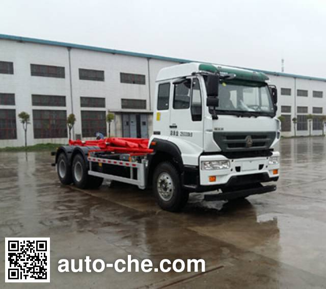 Yinbao SYB5252ZXXE5 detachable body garbage truck