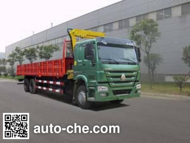 Yinbao SYB5254JSQ truck mounted loader crane