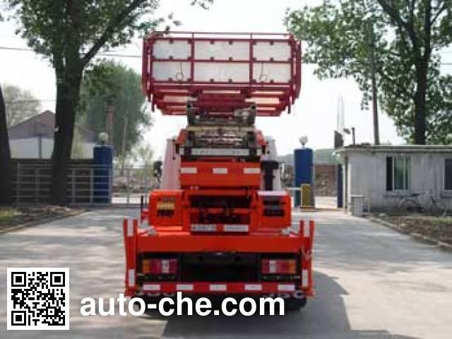 Shencheng SYG5040TBJ ladder truck