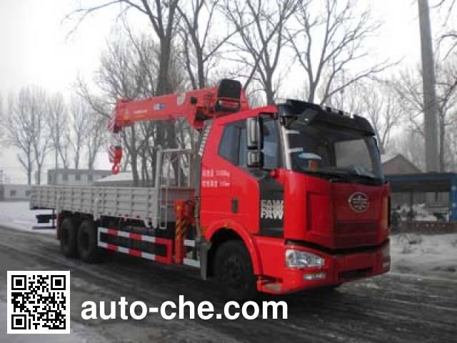 Shencheng SYG5250JSQ4 truck mounted loader crane