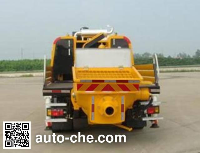 三一牌SYM5123THB车载式混凝土泵车