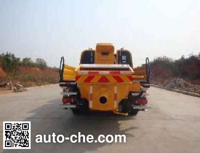 三一牌SYM5126THB车载式混凝土泵车