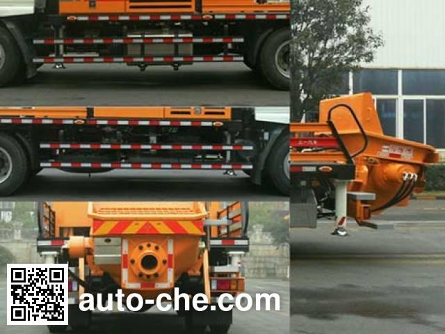三一牌SYM5129THB车载式混凝土泵车