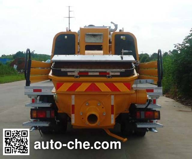 三一牌SYM5132THB车载式混凝土泵车