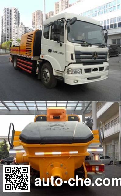 三一牌SYM5133THB车载式混凝土泵车