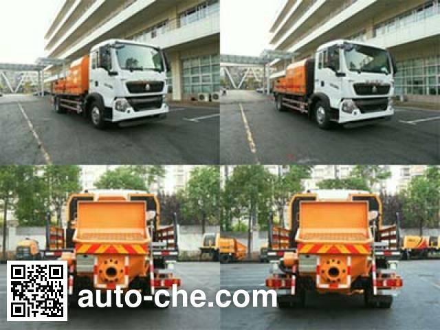 Sany SYM5151THB truck mounted concrete pump