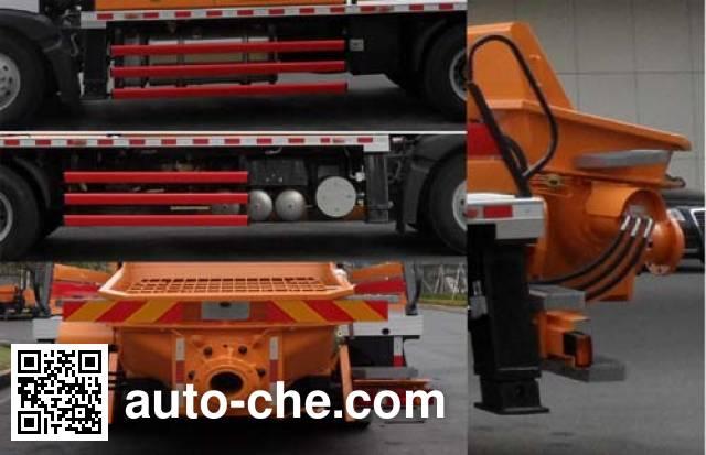 三一牌SYM5161THB车载式混凝土泵车