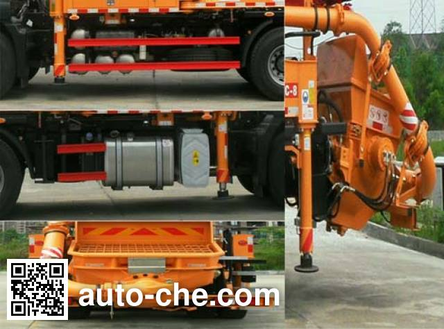 Sany SYM5285THBEZ concrete pump truck